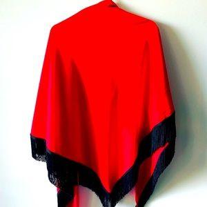 Red Fridge Shawl